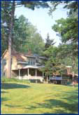 Twin Lake Village - all inclusive new hampshire waterfront lakefront resort lodging hotel inn new london nh